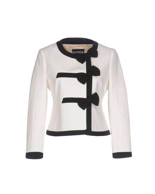 Boutique Moschino - White Blazer - Lyst