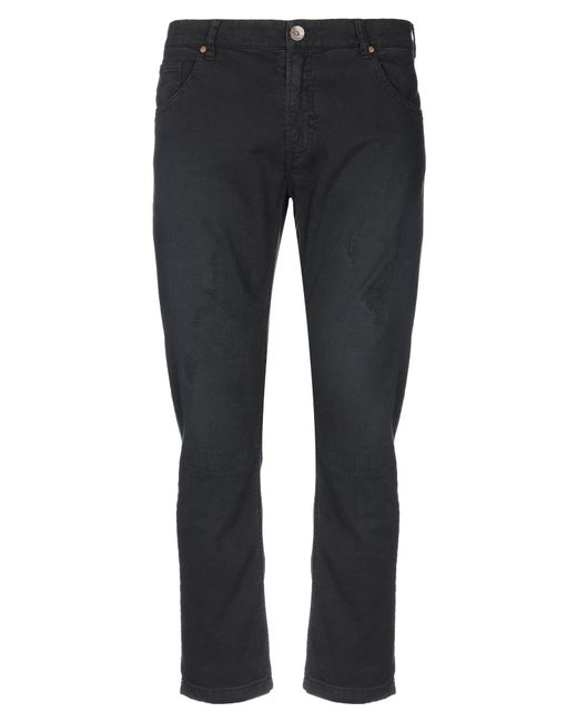 Jeordie's Black Denim Pants for men