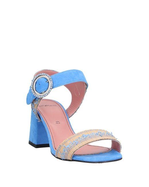 Tipe E Tacchi Blue Sandale