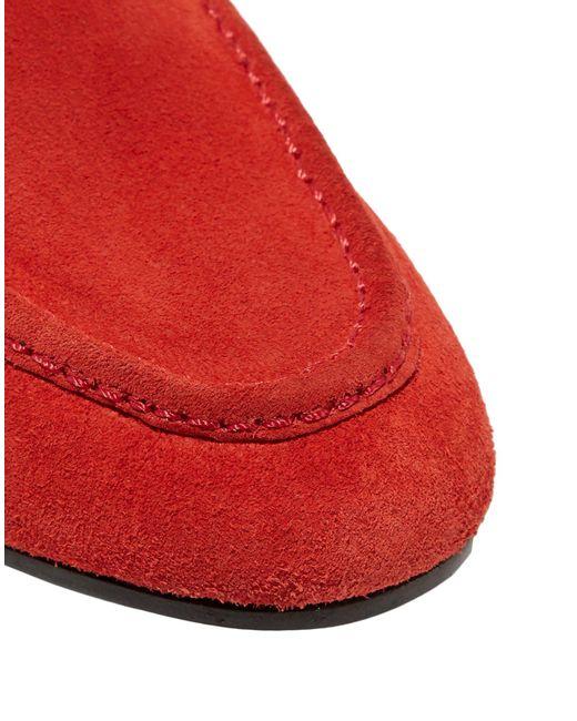 Mocassins Rag & Bone en coloris Red