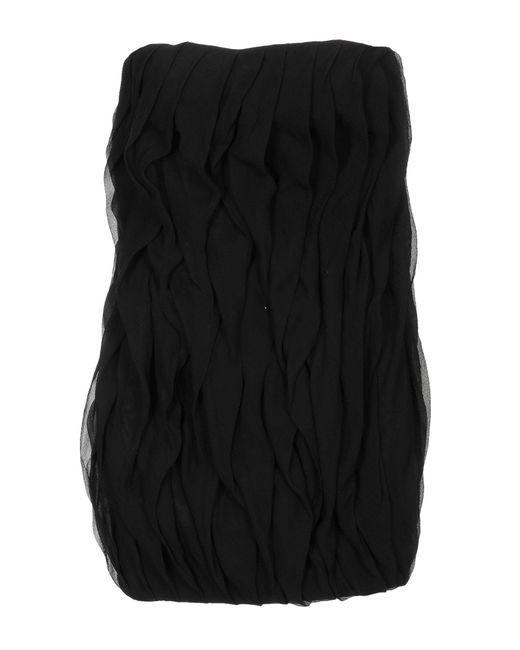 Les Hommes Black Kurzes Kleid