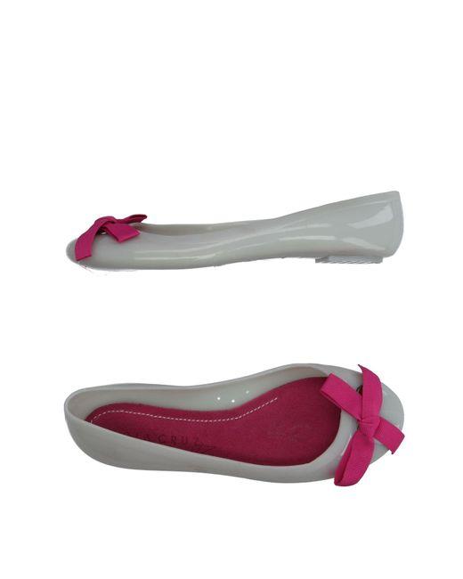Lola Cruz - White Ballet Flats - Lyst