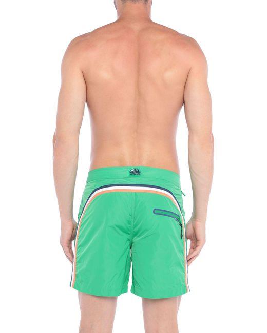 Sundek Badeboxer in Green für Herren
