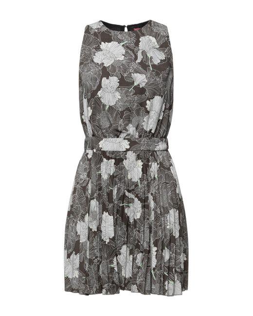 Guess Gray Short Dress