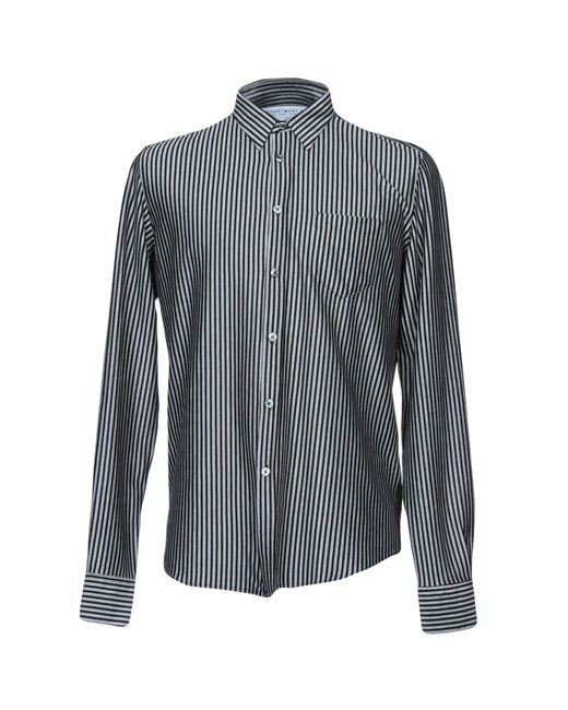 Department 5 - Gray Shirts for Men - Lyst