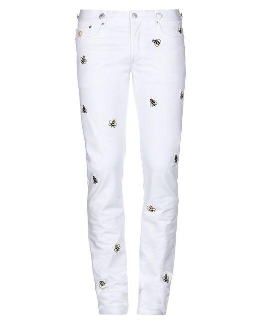 Pantalones vaqueros Dior de hombre de color White