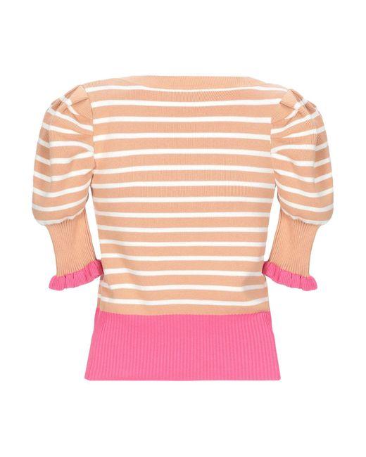 Pullover Manoush en coloris Pink