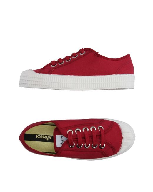 Novesta | Red Low-tops & Sneakers | Lyst