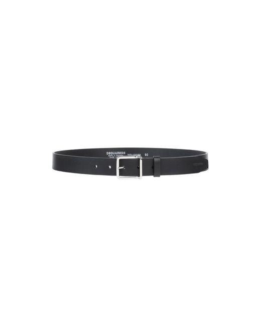 Cintura di DSquared² in Black da Uomo