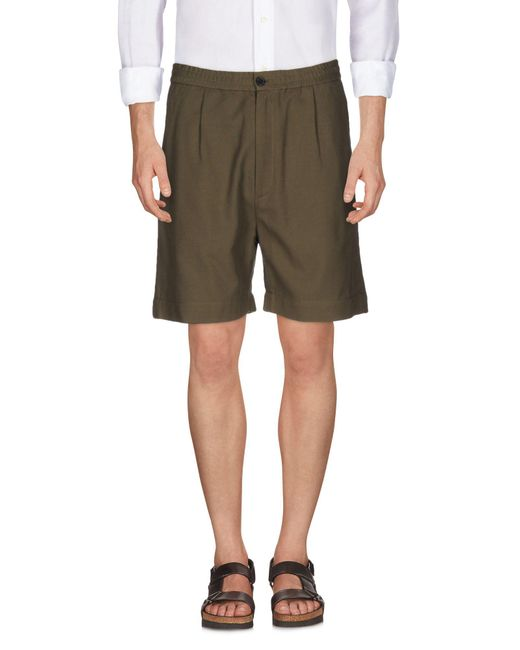 Covert - Green Bermuda Shorts for Men - Lyst