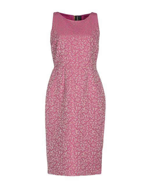 Fontana Couture - Purple Knee-length Dress - Lyst