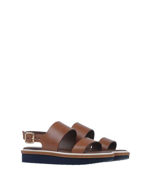 Sandalias Tod's de color Brown