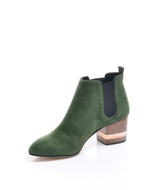 53c4aea2ab53a Dear Frances Float Boots In Forest Back In Stock in Green - Save 5 ...