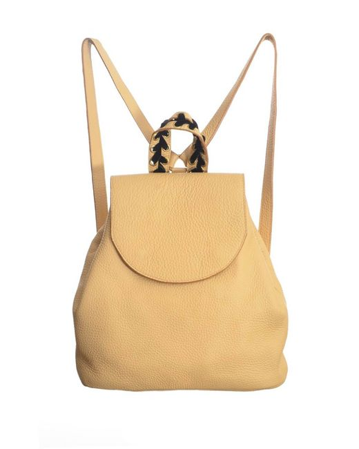 Romy LDN - Natural Noya Backpack In Sand Pebble Leather- Last One - Lyst