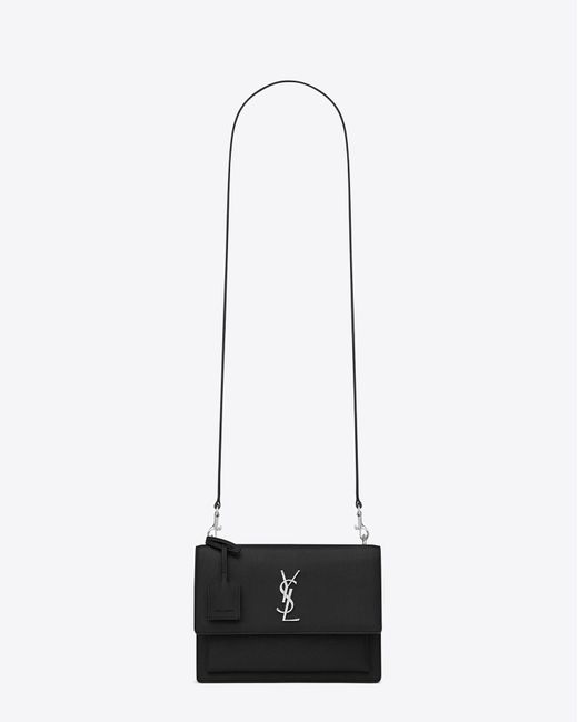Saint Laurent | Multicolor Sunset Medium Croc-effect Leather Shoulder Bag | Lyst