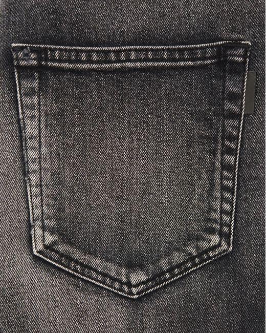 eea921dddf Saint Laurent Tokyo Black Stretch Denim Skinny Jeans for Men - Lyst