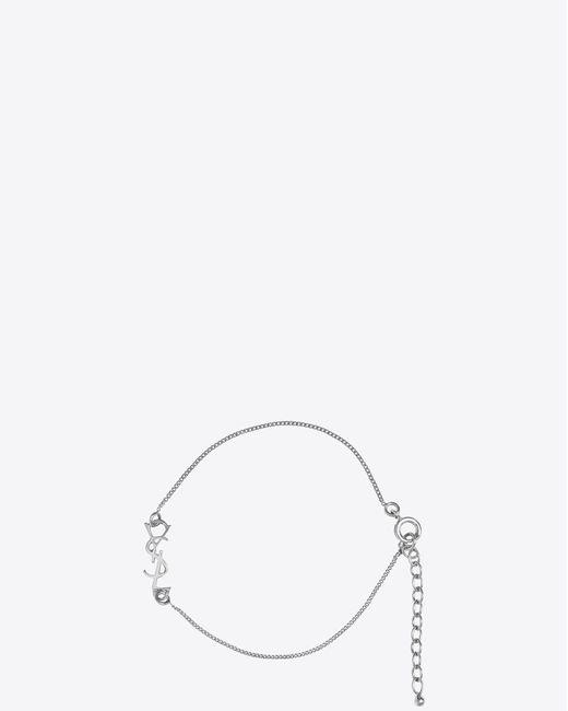 4a94fcc36b8df Women's Metallic Charm Bracelet In Silver Brass