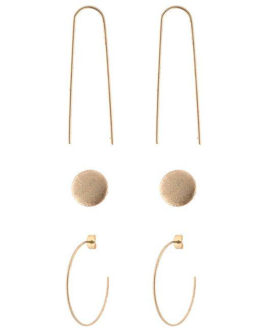 SELECTED   Metallic Sfkari Set Earrings   Lyst
