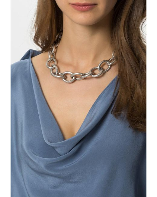 ONLY   Metallic Onlkeiral Necklace   Lyst