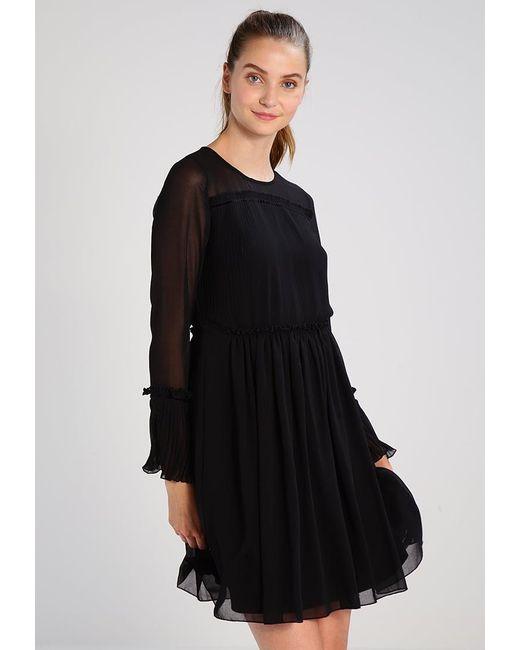 Vila | Black Vivesper Summer Dress | Lyst