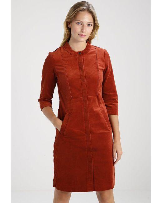 Noa Noa | Red Corduroy Summer Dress | Lyst