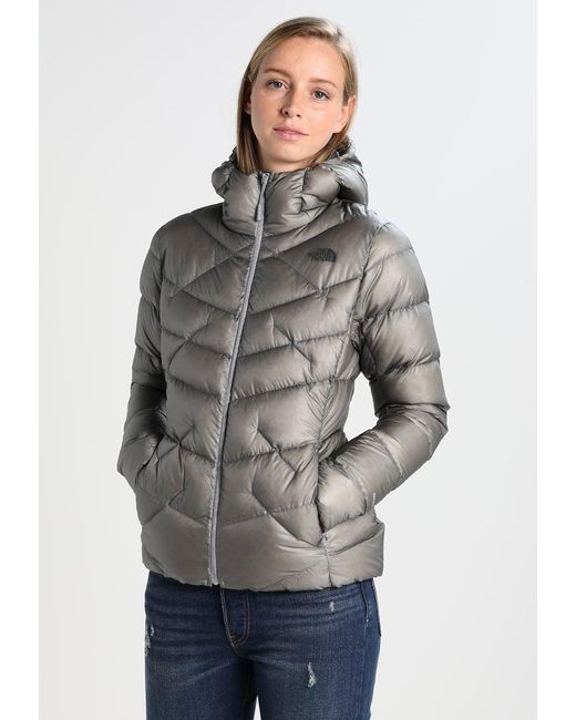 The North Face | Gray Supercinco Down Jacket | Lyst