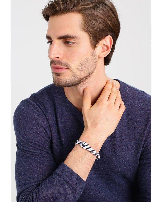 Icon Brand | White Captain Flint Bracelet for Men | Lyst