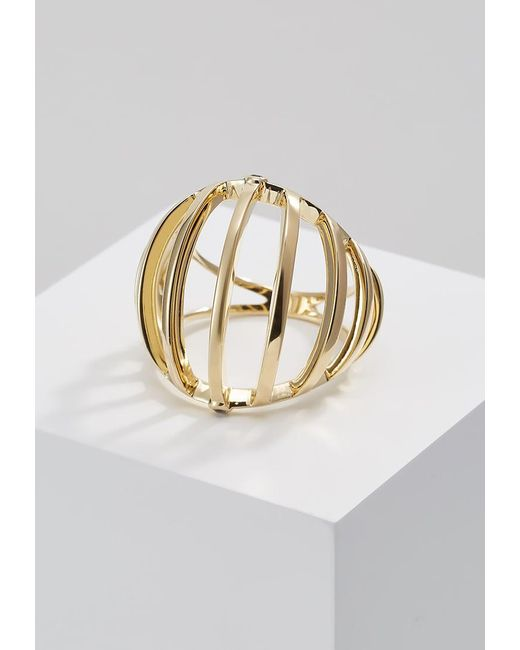 Elizabeth and James   Metallic Solin Ring   Lyst