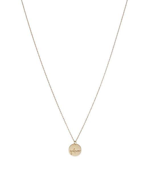 ... Malaikaraiss | Metallic Necklace Plaquette Girlpower Necklace | Lyst