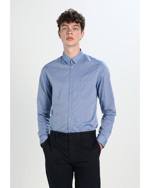 BOSS Orange | Blue Eglam Extra Slim Fit Shirt for Men | Lyst
