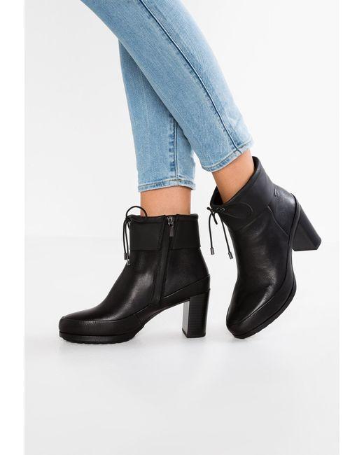 Clarks | Black London Rain Gtx Ankle Boots | Lyst