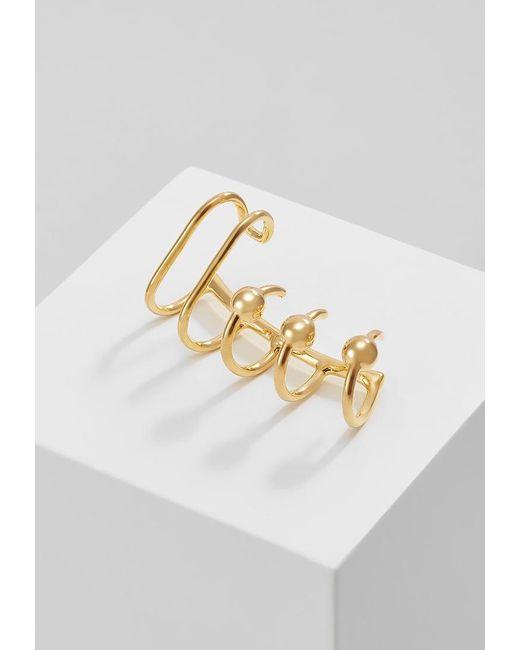 Maria Black   Metallic Orbit Earrings   Lyst