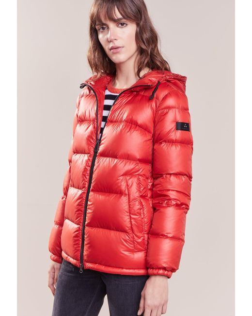 Peuterey | Red Down Jacket | Lyst