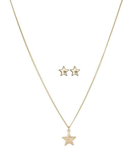Pieces   Metallic Pchildby Set Necklace   Lyst