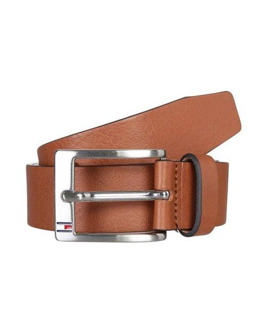Tommy Hilfiger | Brown New Aly Belt for Men | Lyst