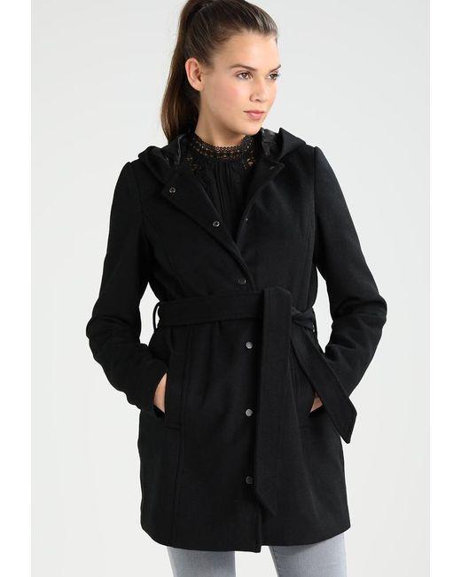 Vero Moda | Black Vmelena Rich Short Coat | Lyst