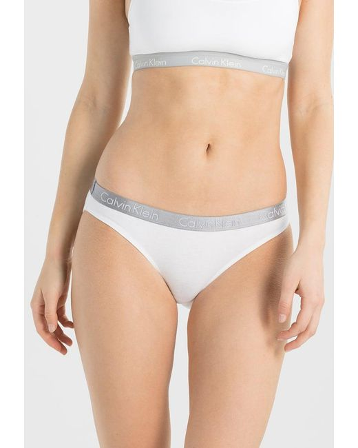 Calvin Klein | White Radiant Cotton Briefs | Lyst