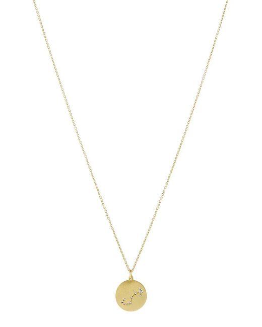 Pilgrim | Metallic Scorpio Necklace | Lyst