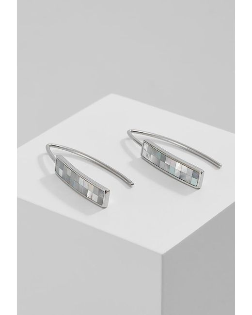 Skagen | Metallic Agnethe Earrings | Lyst