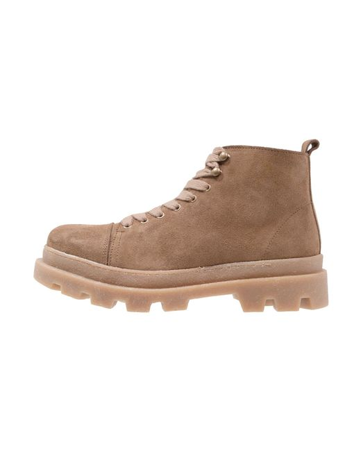Samsøe & Samsøe | Brown Parker Lace-up Boots for Men | Lyst