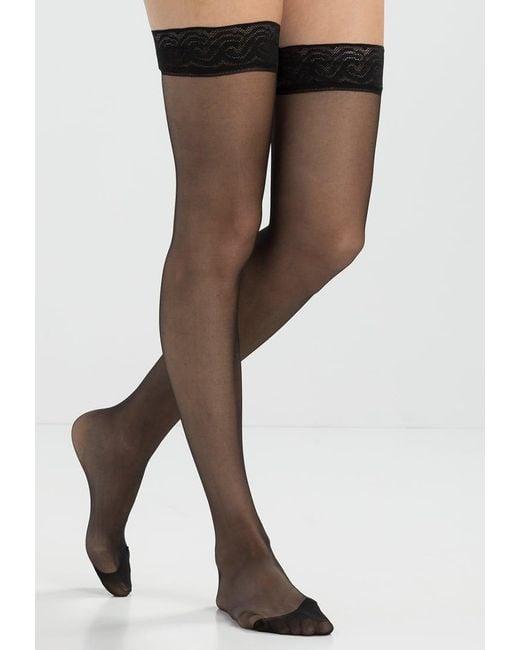 Pretty Polly | Black Over-the-knee Socks | Lyst