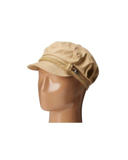 Betmar - Natural Fisherman Cap (white/navy) Caps - Lyst