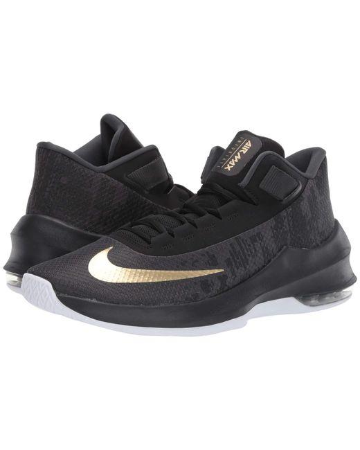 87fda6e6f685 Lyst - Nike Air Max Infuriate 2 Mid (wolf Grey black dark Grey ...