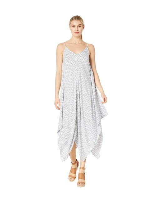 Tommy Bahama Multicolor Yarn-dye Stripe Scarf Dress