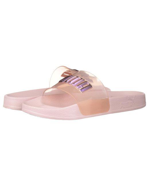 PUMA - Pink X Sophia Webster Leadcat Glitter Princess Slide - Lyst