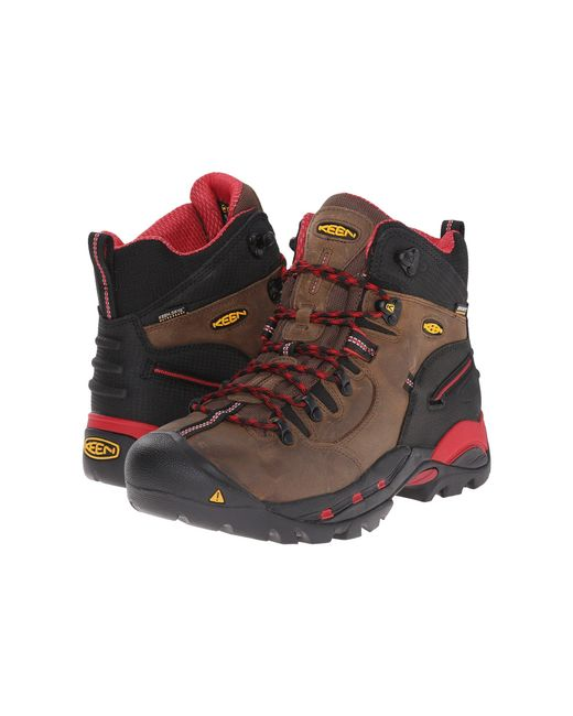 Keen Utility Brown Pittsburgh Boot for men