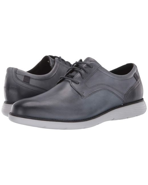 Rockport Gray Garett Plain Toe for men