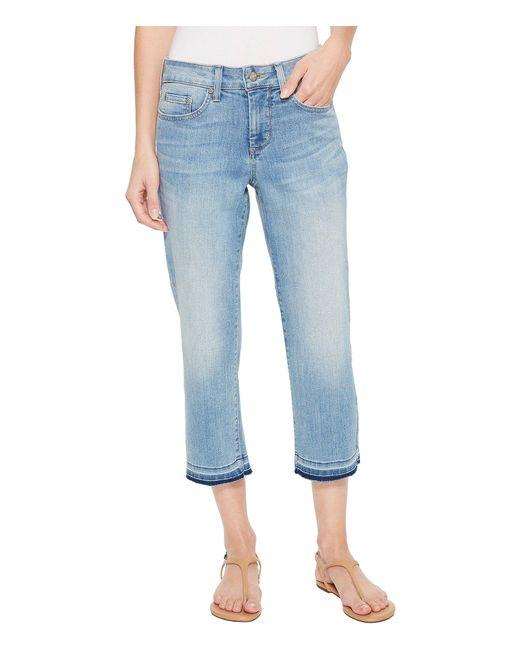 NYDJ - Blue Capris W/ Released Hem In Dreamstate (dreamstate) Women's Jeans - Lyst
