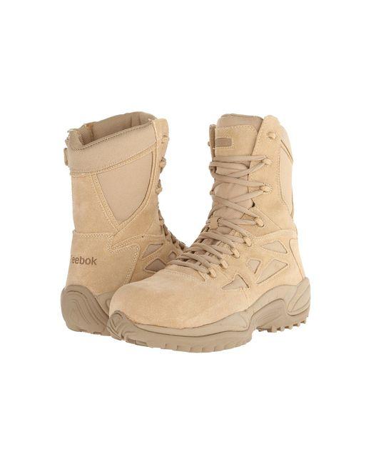 Reebok - Brown Rapid Response Rb 8 Ct (tan) Men's Work Boots for Men - Lyst