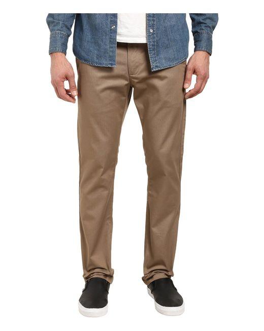 RVCA - Natural The Week-end Pant (dark Khaki) Men's Casual Pants for Men - Lyst